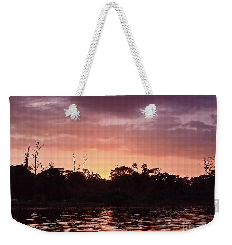 Central America Weekender Tote Bag featuring the photograph Costa Rica 052 by Howard Stapleton