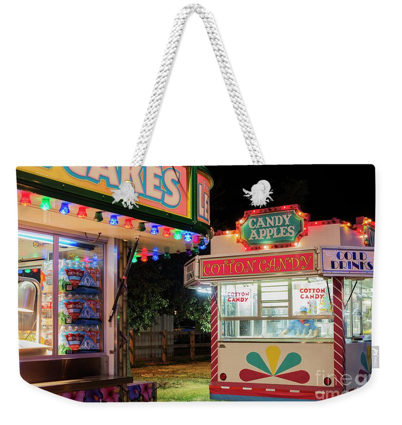 Advertisement Weekender Tote Bag featuring the photograph Cotton Candy by Juli Scalzi