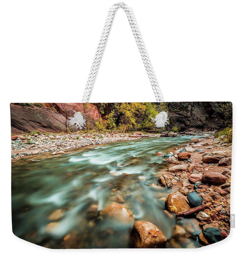 2013 Weekender Tote Bag featuring the photograph Cotton Colors by Edgars Erglis