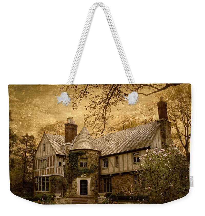 House Weekender Tote Bag featuring the photograph Country Estate by Jessica Jenney