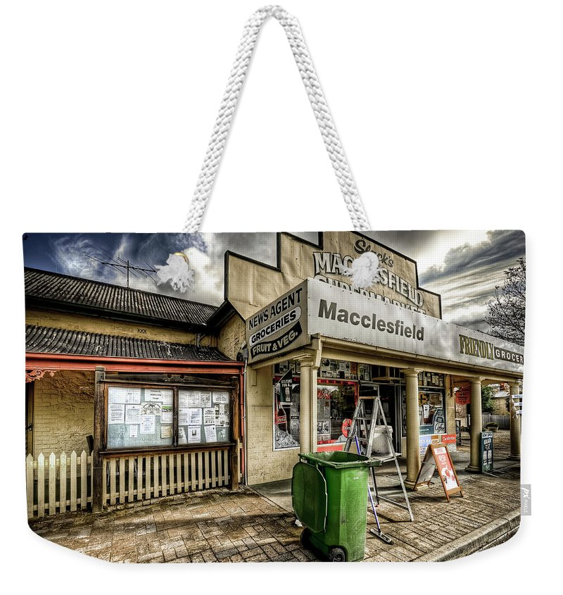 Grocer Weekender Tote Bag featuring the photograph Country Grocer by Wayne Sherriff