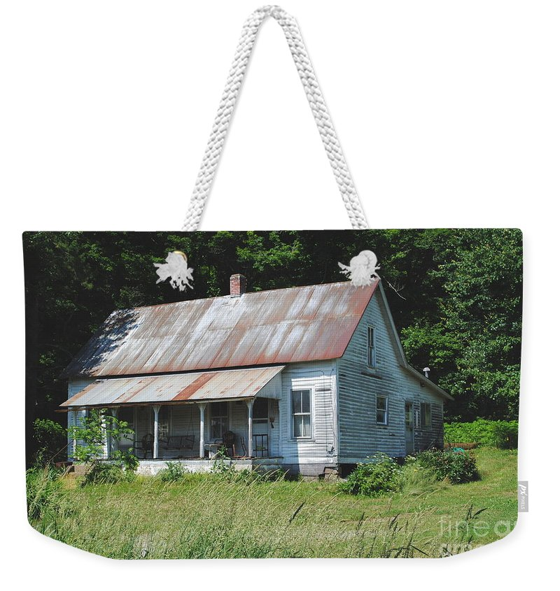 Shack Weekender Tote Bag featuring the photograph Country Home by Jost Houk