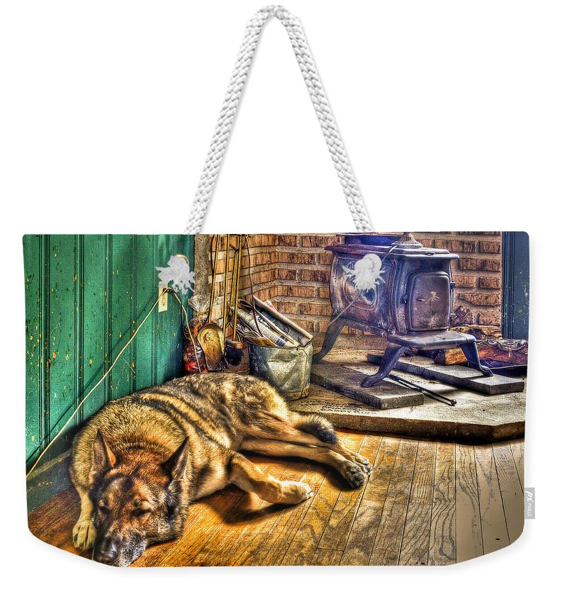 Country Weekender Tote Bag featuring the photograph Country Living by Evelina Kremsdorf