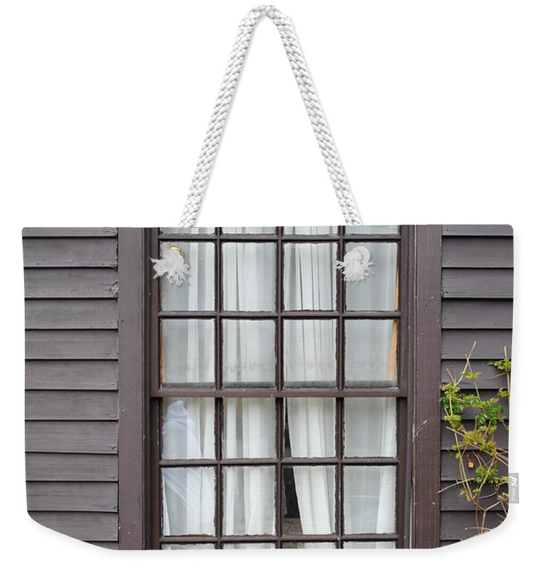 Window Weekender Tote Bag featuring the photograph Country Window by Jost Houk