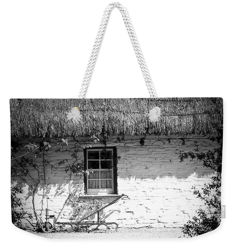 Irish Weekender Tote Bag featuring the photograph County Clare Cottage Ireland by Teresa Mucha