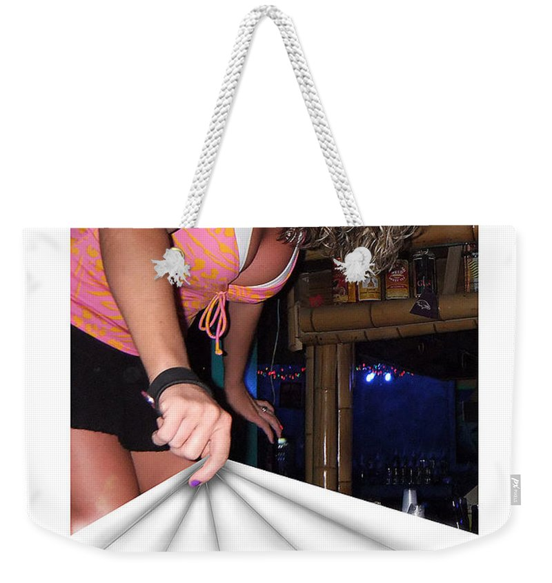 2d Weekender Tote Bag featuring the photograph Cover Up by Brian Wallace