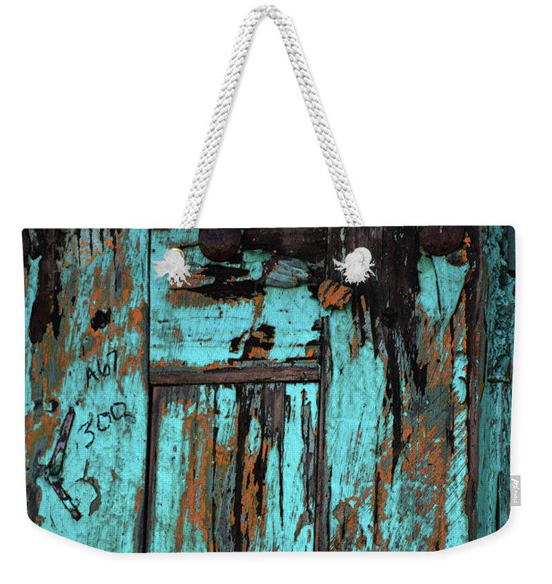 Wimberley Weekender Tote Bag featuring the photograph Cracked by Savannah Gibbs