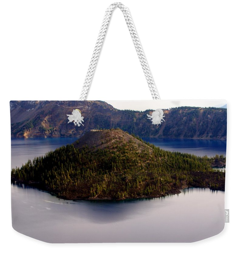 Crater Lake Weekender Tote Bag featuring the photograph Crater Lake 1 by Marty Koch