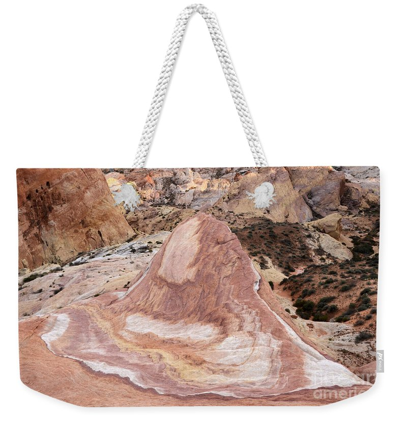 Nevada Weekender Tote Bag featuring the photograph Crazy Hill by Bob Christopher