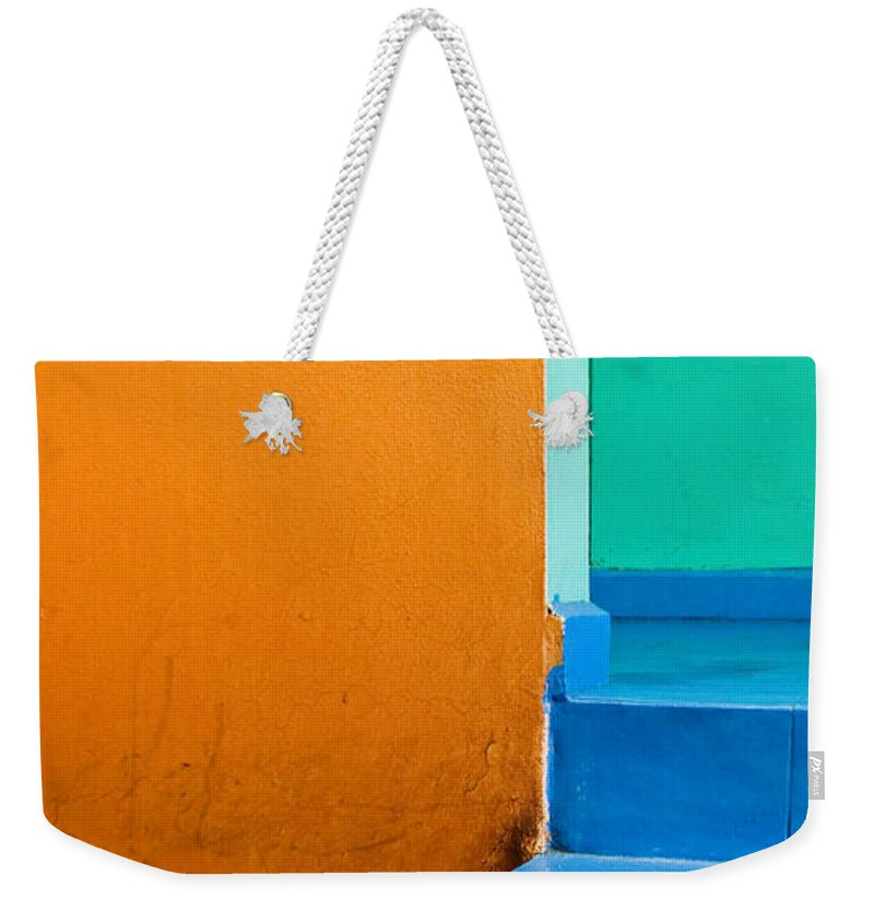 Oaxaca Weekender Tote Bag featuring the photograph Creamsicle by Skip Hunt