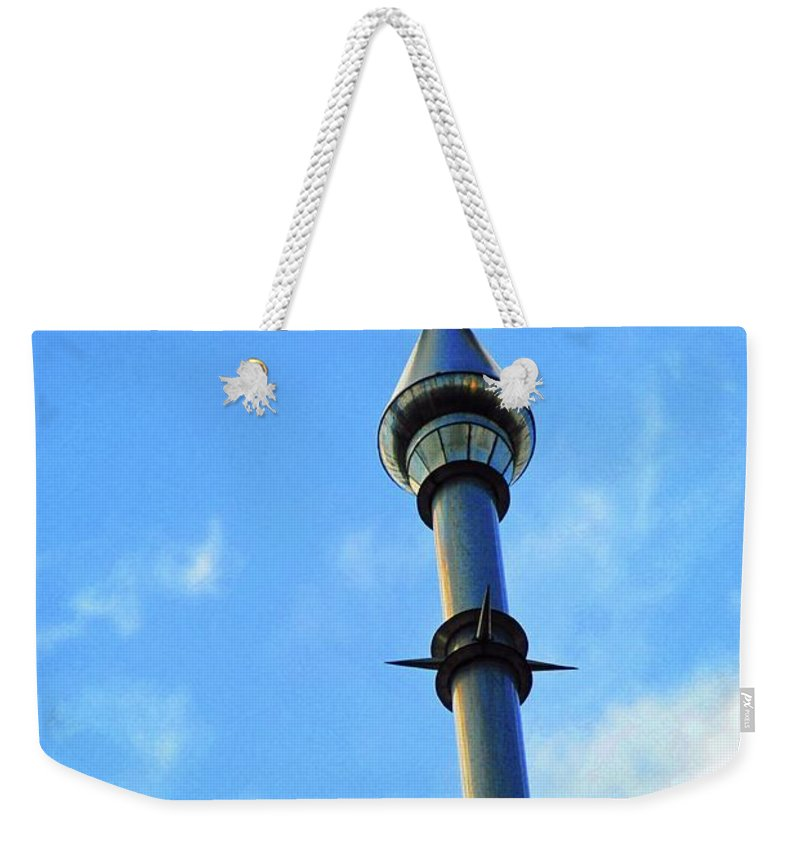 University Of Tampa Weekender Tote Bag featuring the photograph Crescent Of The Day by Jost Houk