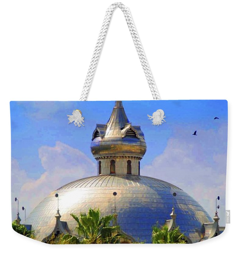 University Of Tampa Weekender Tote Bag featuring the photograph Crescent Of The Dome by Jost Houk