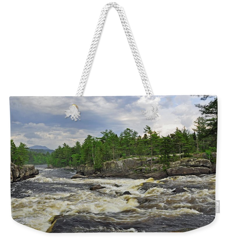 Crib Works Weekender Tote Bag featuring the photograph Crib Works 2 by Glenn Gordon