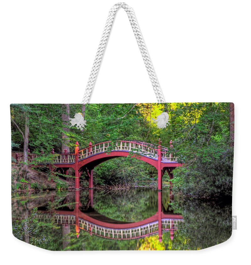 Crim Dell Weekender Tote Bag featuring the photograph Crim Dell Summer by Jerry Gammon