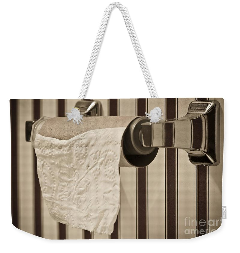 Critical Weekender Tote Bag featuring the photograph Critical Thinking by Charles Dobbs
