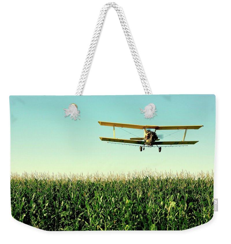 Airplane Weekender Tote Bags