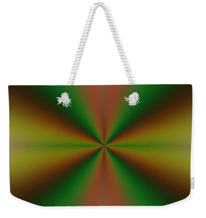 Digital Art Weekender Tote Bag featuring the digital art Crossing I by Dragica Micki Fortuna