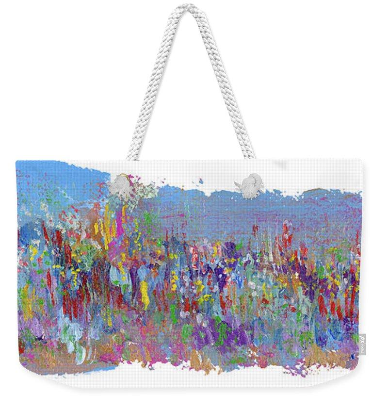 Crusade Weekender Tote Bag featuring the painting Crusade by Bjorn Sjogren