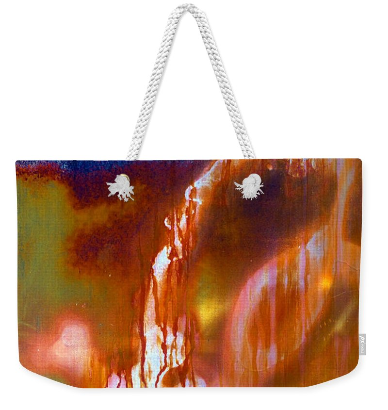 Skip Weekender Tote Bag featuring the photograph Cry Me A River by Skip Hunt