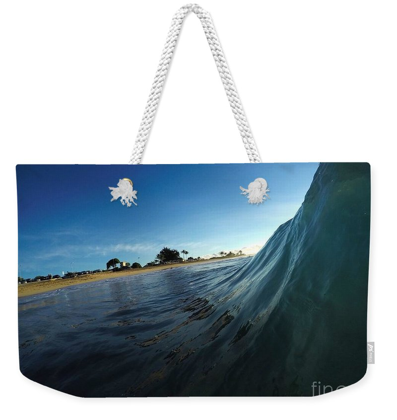 Weekender Tote Bag featuring the photograph Crystal Ball by Benen Weir