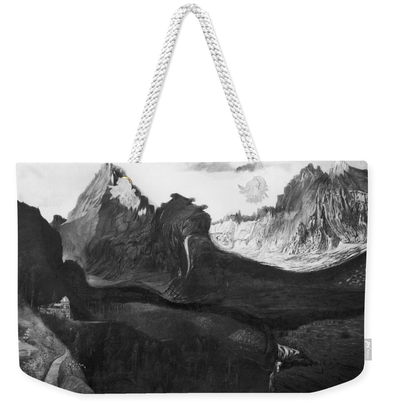 1904 Weekender Tote Bag featuring the photograph Csontvary: Hight Tatras by Granger