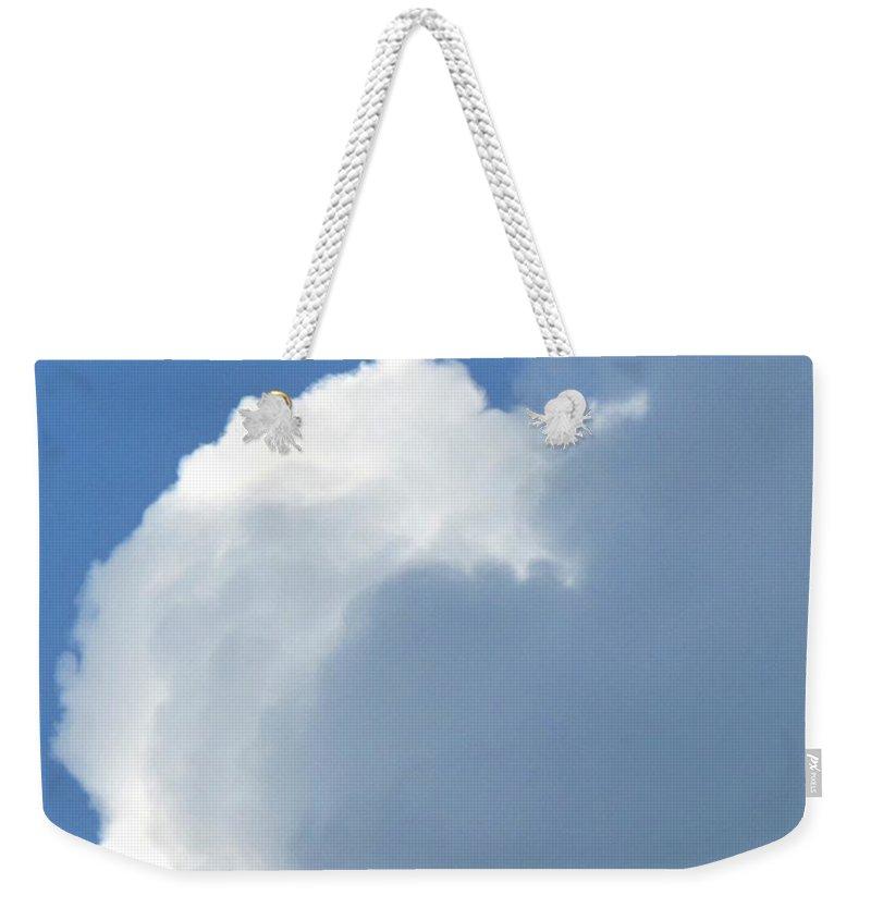 Cloud Weekender Tote Bag featuring the photograph Cumulus Nimbus by Ian MacDonald