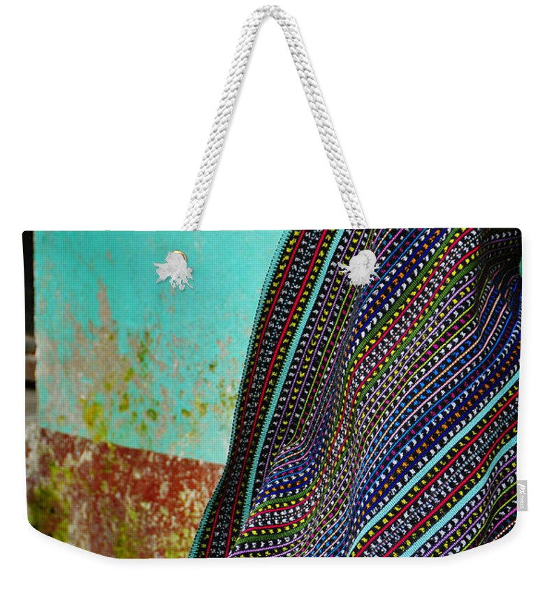 Skip Hunt Weekender Tote Bag featuring the photograph Curandera by Skip Hunt
