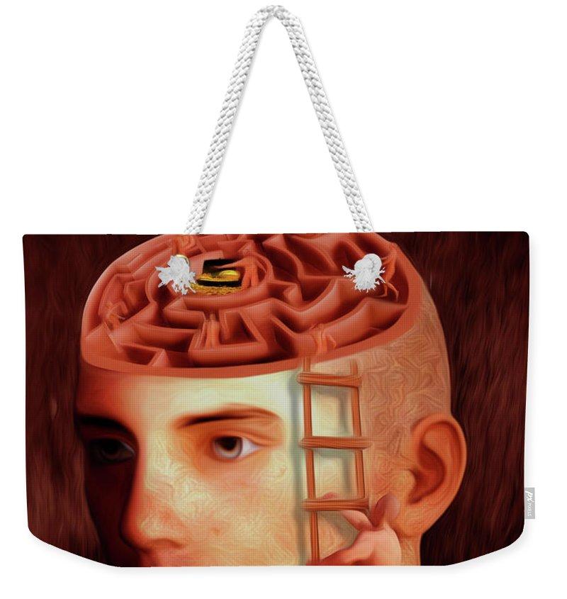 Brain Freeze Paintings Weekender Tote Bags