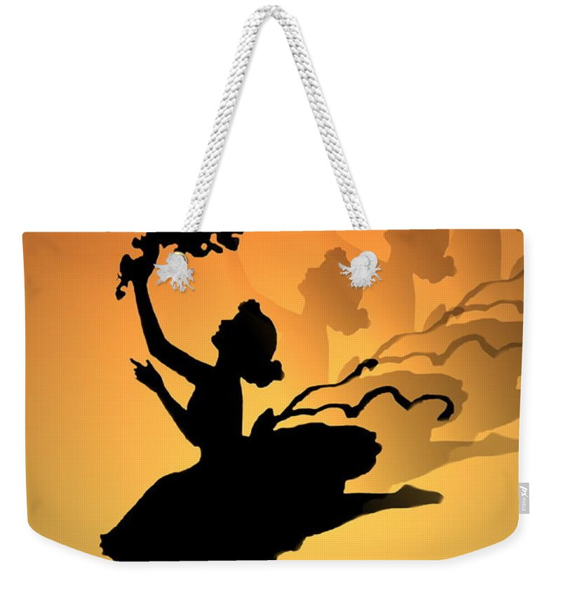 Curtain Call Weekender Tote Bag featuring the photograph Curtain Call by Joyce Dickens