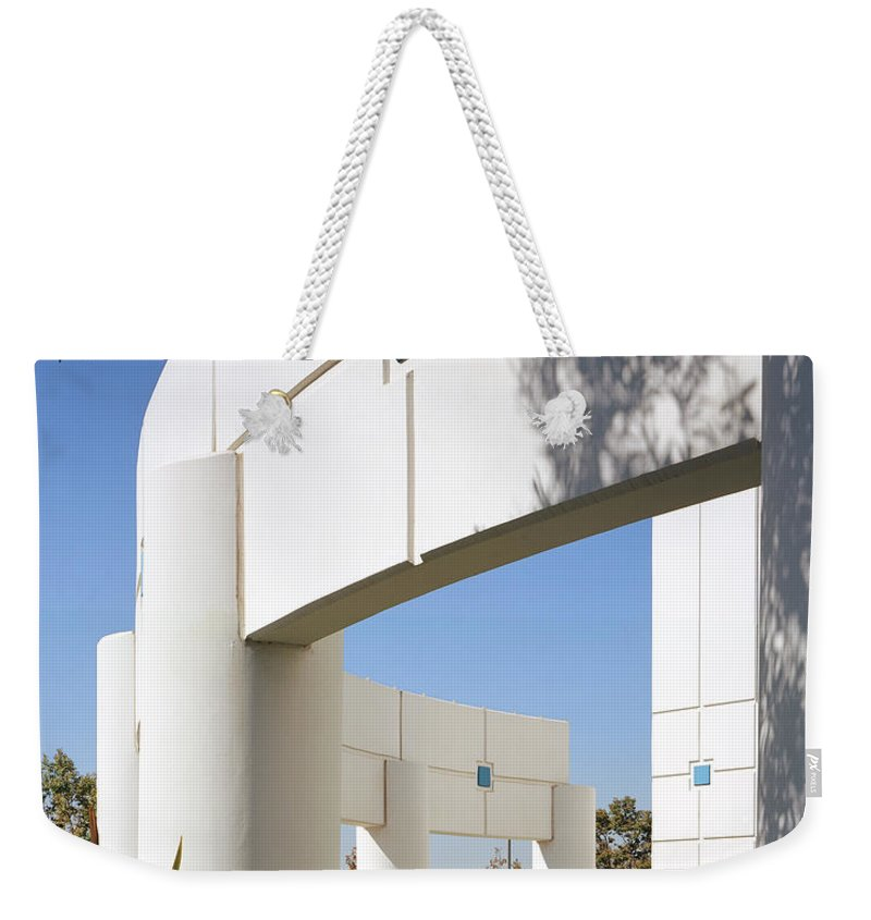 Architecture Weekender Tote Bag featuring the photograph Curvature by Kelley King