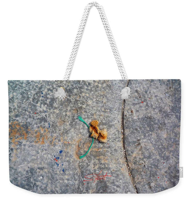 Fishing Net Weekender Tote Bag featuring the photograph Curve And Counter Curve by Charles Stuart