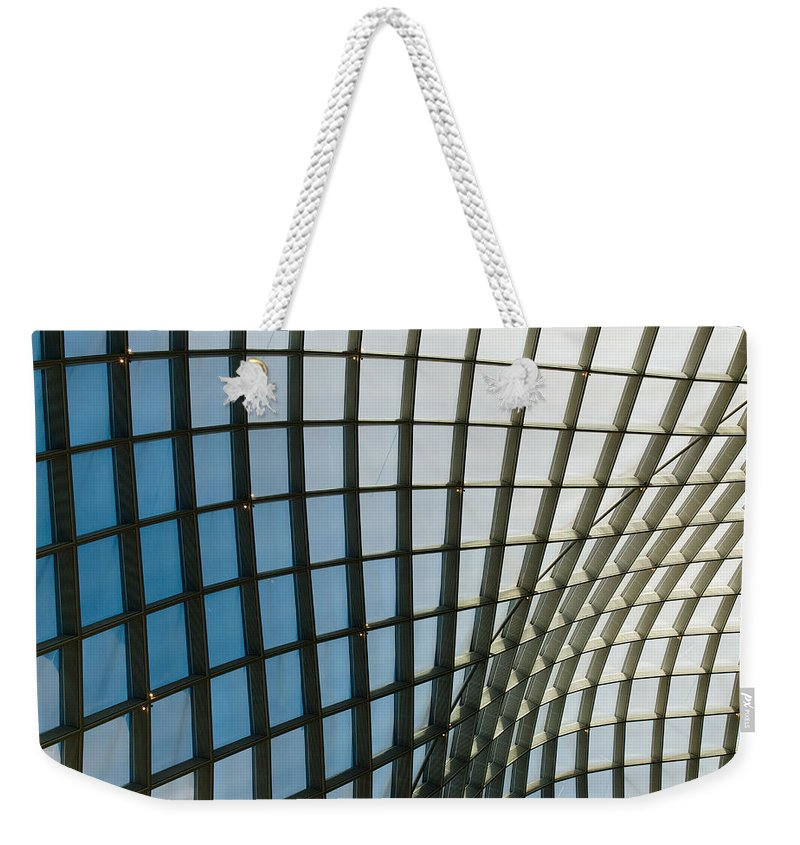 Abstract Weekender Tote Bag featuring the photograph Curves by Julie Niemela