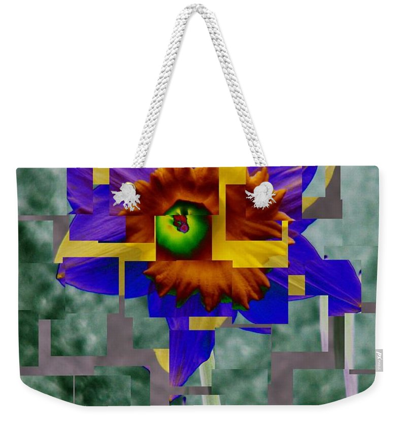 Daffodil Weekender Tote Bag featuring the photograph Daffodil 3 by Tim Allen
