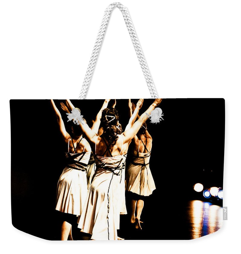 Dance Weekender Tote Bag featuring the photograph Dance - Y by Scott Sawyer