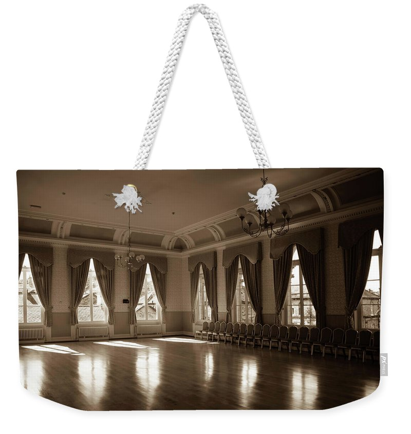 Saltaire Weekender Tote Bag featuring the photograph Dance Away Your Fears by Jez C Self