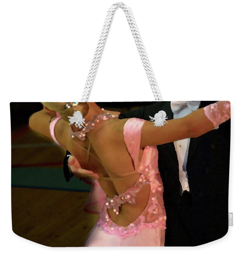 Lehtokukka Weekender Tote Bag featuring the photograph Dance Contest Nr 12 by Jouko Lehto
