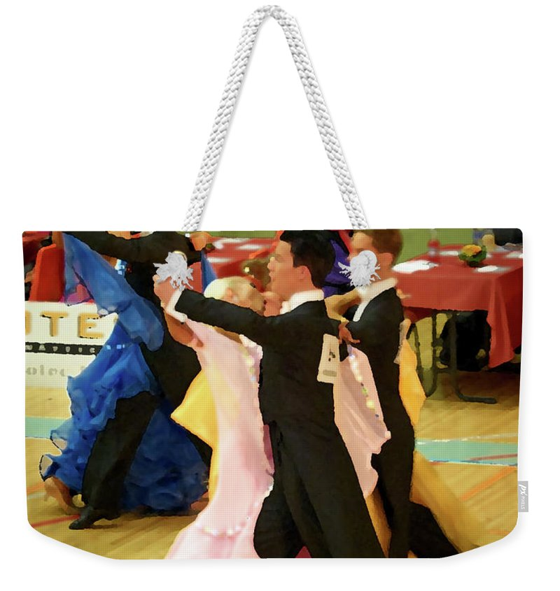 Lehtokukka Weekender Tote Bag featuring the photograph Dance Contest Nr 18 by Jouko Lehto