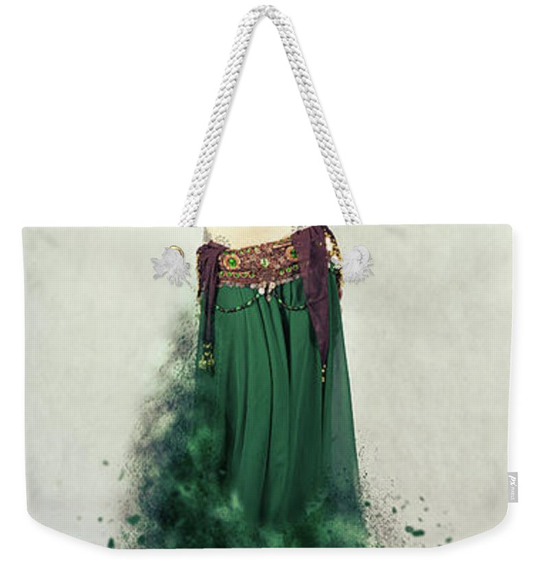Belly Dancer Weekender Tote Bags