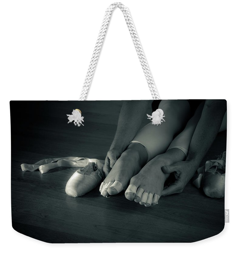 Ballet Weekender Tote Bag featuring the photograph Dancers Sacrifice by Scott Sawyer