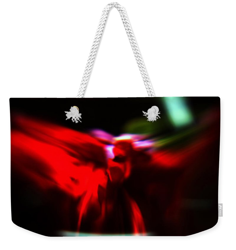 Abstract Weekender Tote Bag featuring the photograph Dancing Angels by Scott Wyatt