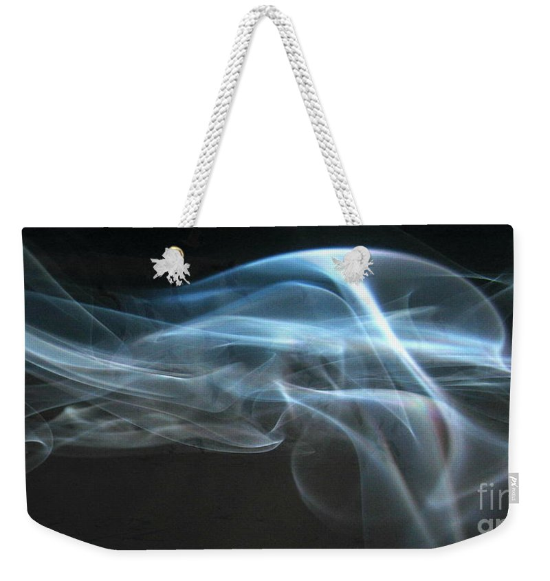 Light Weekender Tote Bag featuring the photograph Dancing Light by Roe Rader