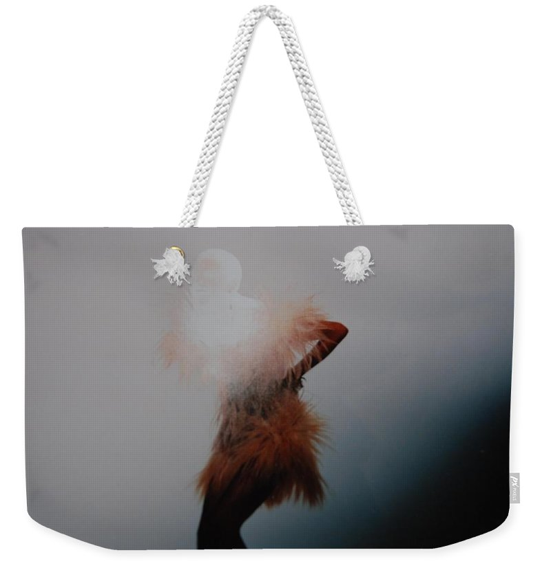 Pop Art Weekender Tote Bag featuring the photograph Dancing Shadows by Rob Hans