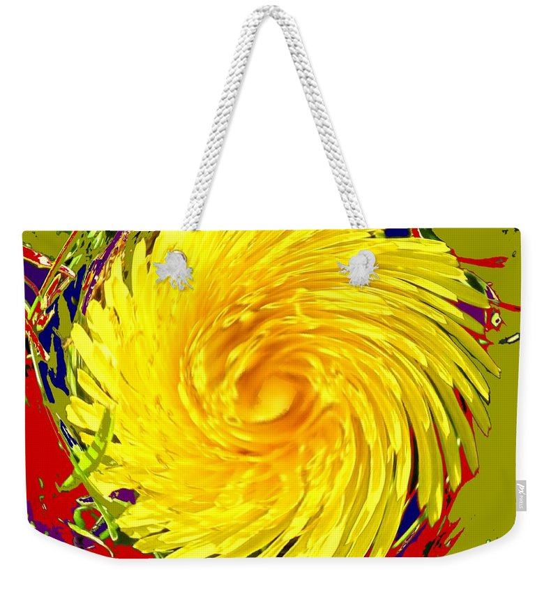 Flower Weekender Tote Bag featuring the photograph Dandy Three by Ian MacDonald