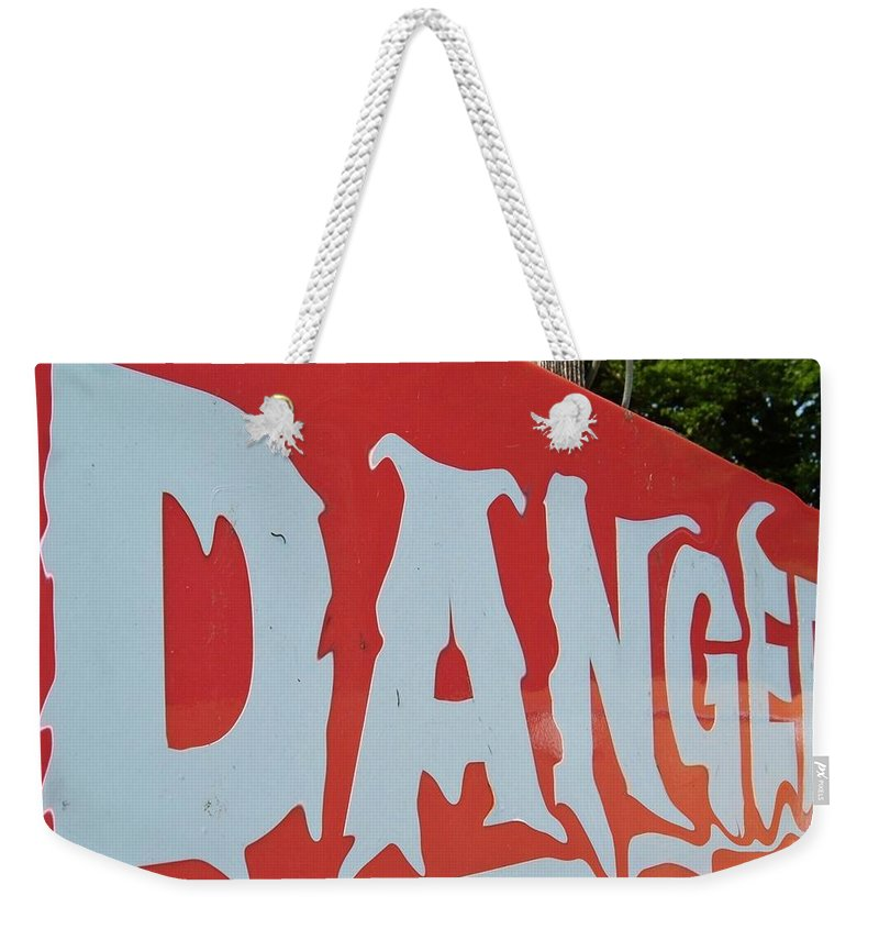 Global Warming Weekender Tote Bag featuring the photograph Danger - Global Warming by Richard Brookes