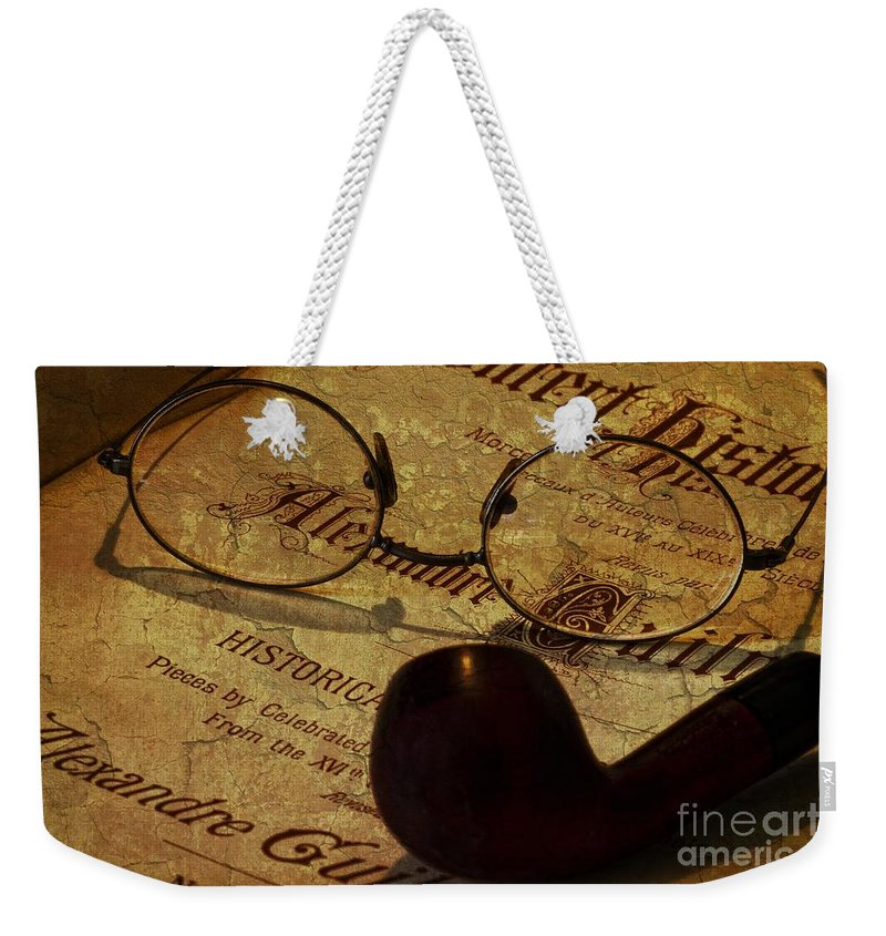 Books Weekender Tote Bag featuring the photograph Dangerous Minds by Dania Reichmuth