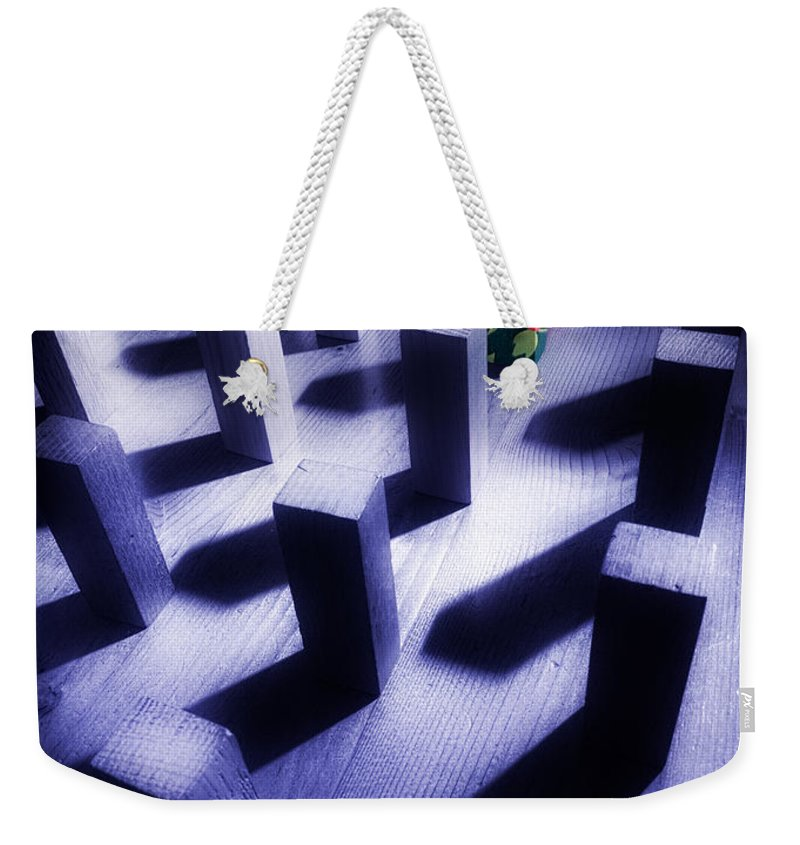 Extrovert Weekender Tote Bag featuring the photograph Dare To Be Different by Mal Bray