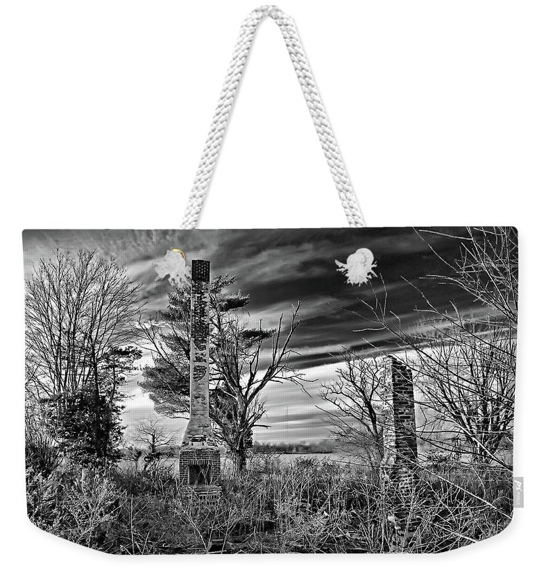 2d Weekender Tote Bag featuring the photograph Dark Days by Brian Wallace