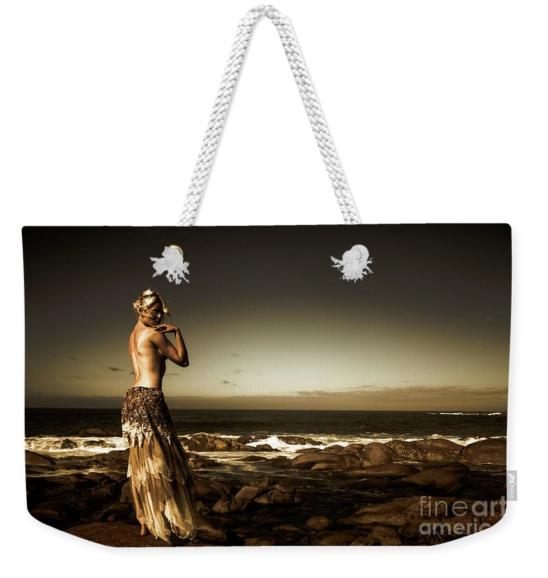 Beautiful Weekender Tote Bag featuring the photograph Dark Dramatic Fine Art Beauty by Jorgo Photography - Wall Art Gallery