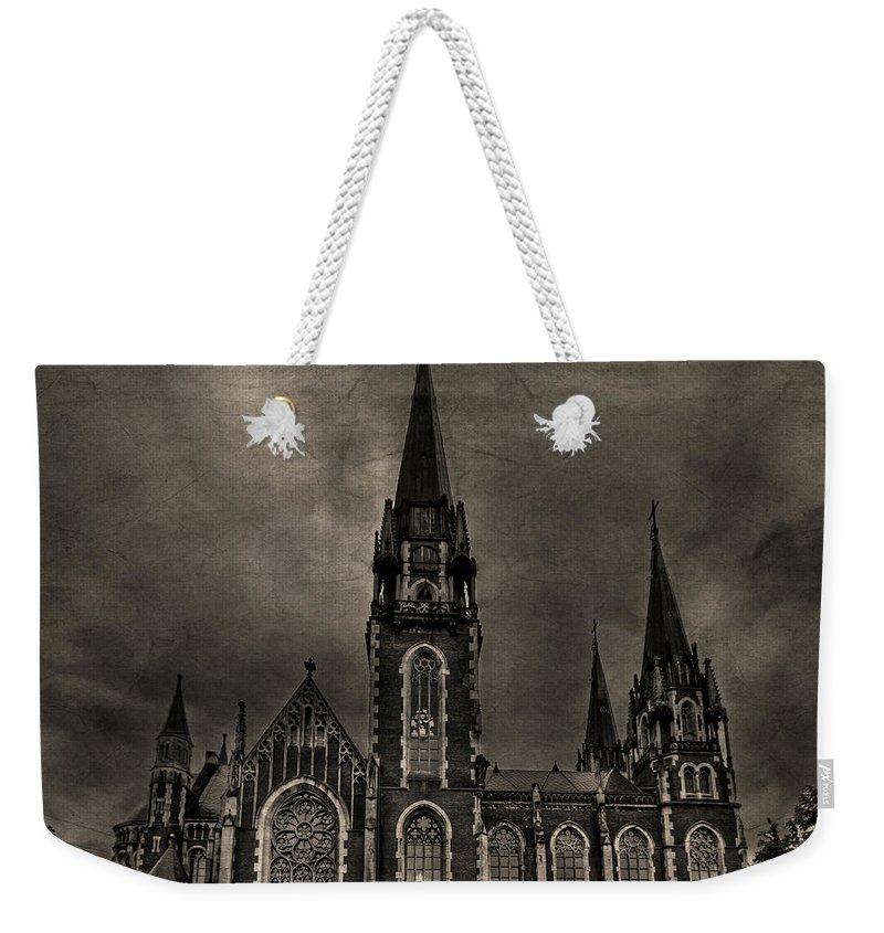 Dark Weekender Tote Bag featuring the photograph Dark Kingdom by Evelina Kremsdorf