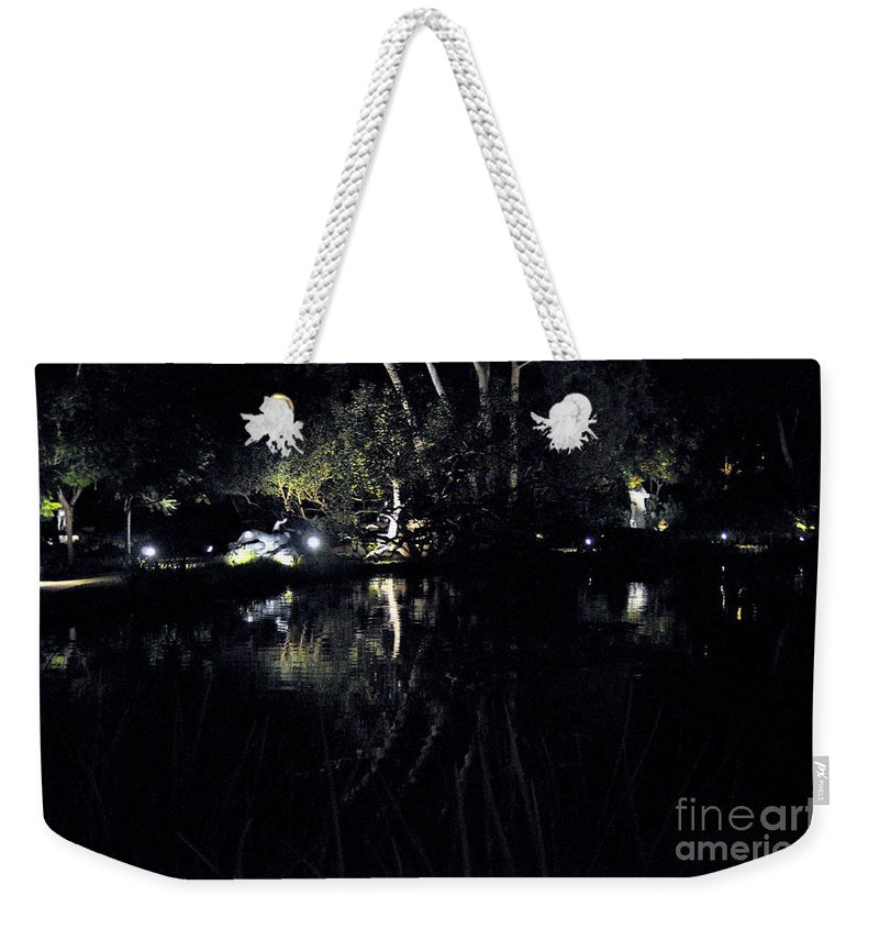 Clay Weekender Tote Bag featuring the photograph Dark Reflections by Clayton Bruster